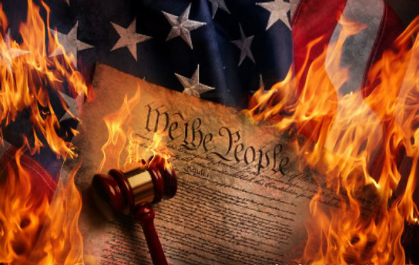 America is going to be destroyed by fire! Sudden destruction is coming and few will escape. Unexpectedly, and in one hour, a hydrogen holocaust will engulf America and this nation will be no more