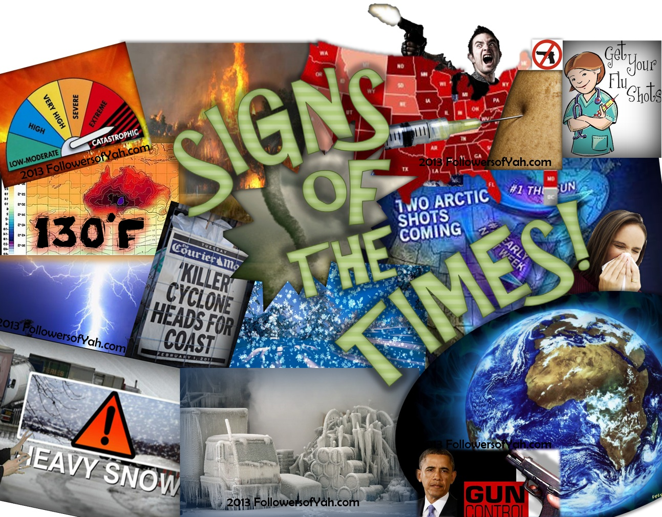 The signs of the end times our generation is living in the last days, nearing the second coming of Jesus.