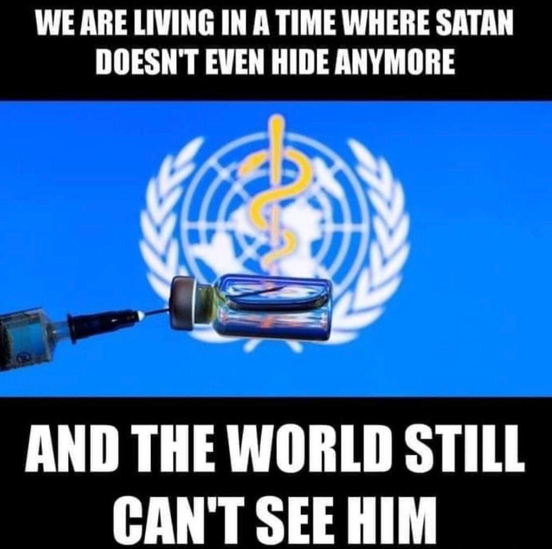 We Are Living In A Time Where Satan Doesn't Even Hide Anymore, AND THE WORLD STILL CAN'T SEE HIM