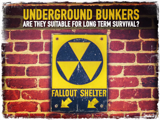 Underground Bunkers: Are They Suitable For Long-Term Survival?